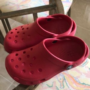 CROCS In Red